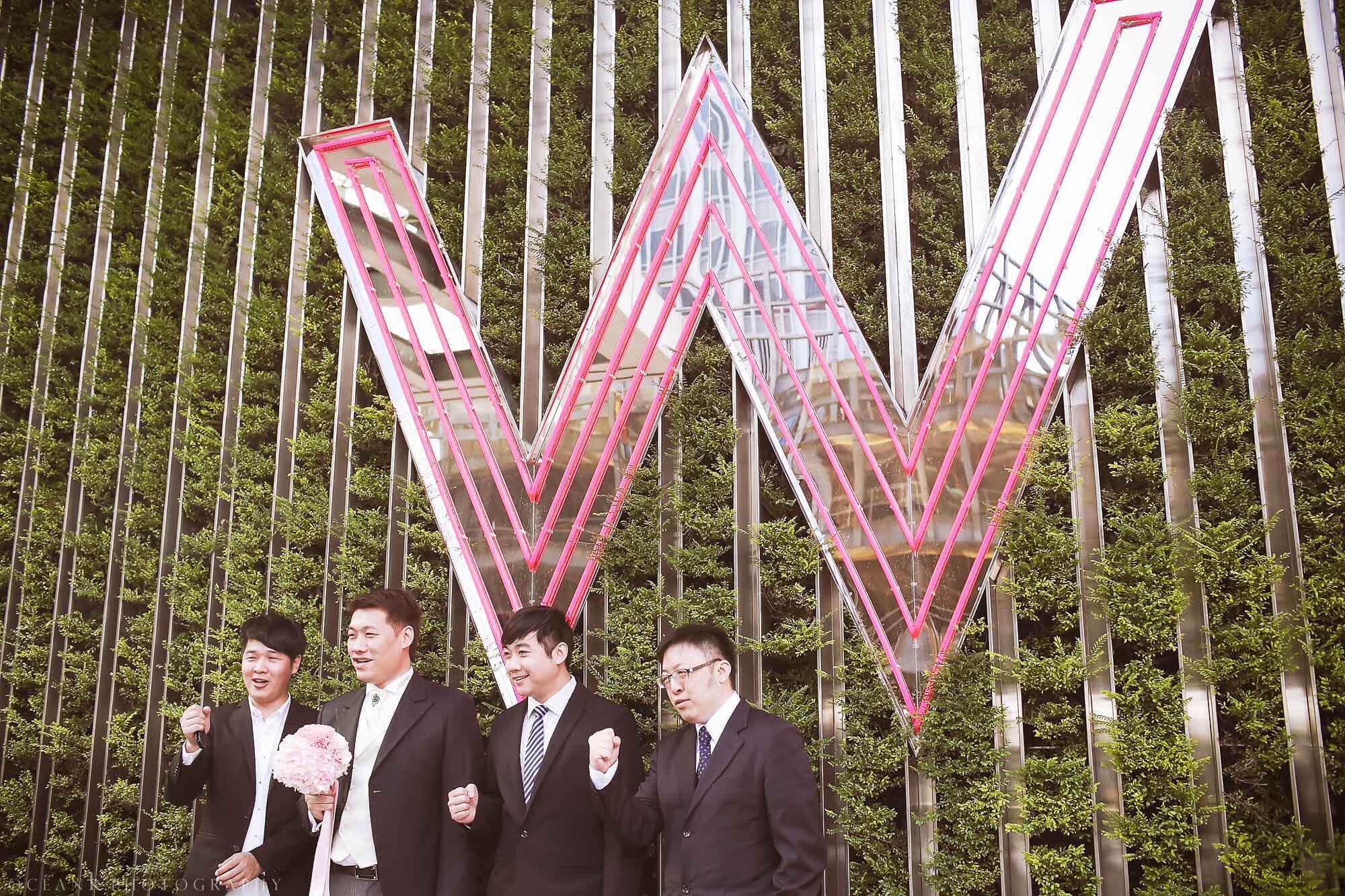 W hotel 婚禮攝影